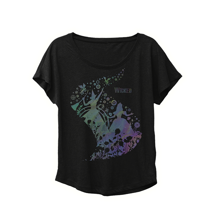 Oil Slick Painted Dolman Image